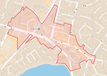 PBA BID AREA MAP