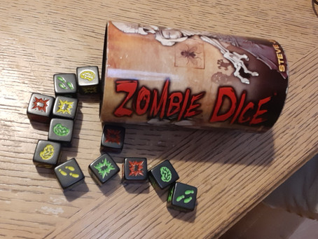 Tabletop Game Review: Zombie Dice