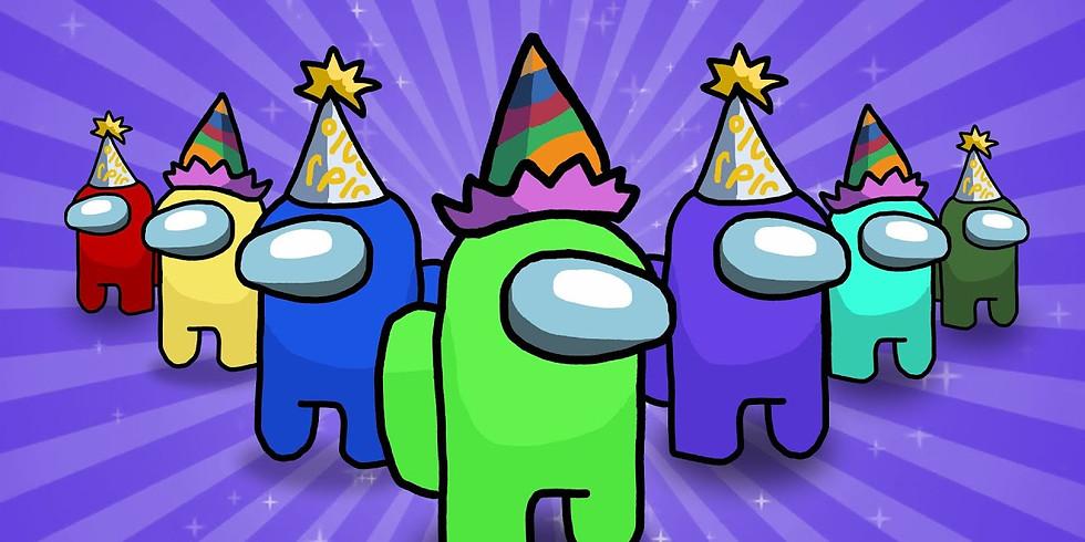 Badger's Bank Holiday Birthday Among Us