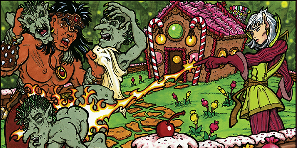 One-shot: Goodman Games: Escape from the Forest of Lanterns