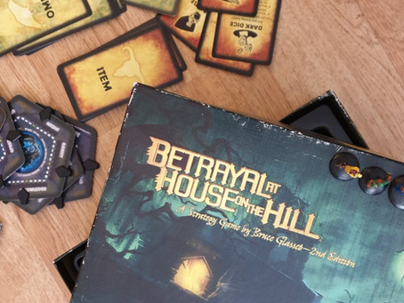 Tabletop Game Review: Betrayal at House on the Hill