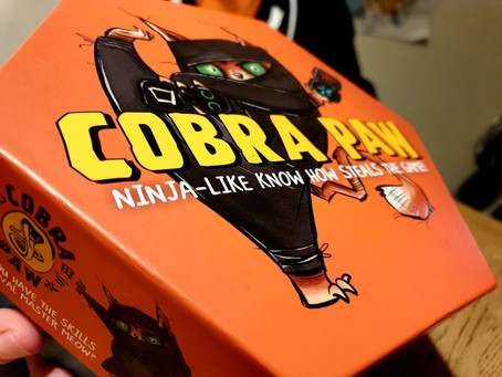Tabletop Game Review: Cobra Paw