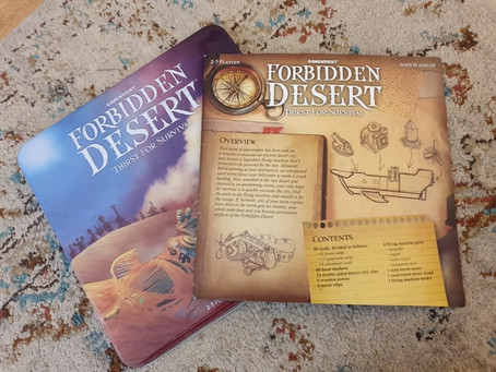 Boardgame Review: Forbidden Desert