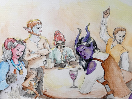 RPG Stories: When the party decides to split up