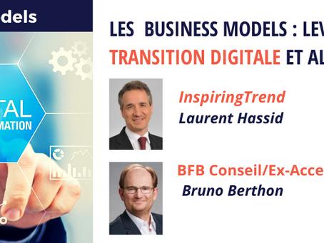 Cycle de webinar Business Model : Les Business Models : levier pour accélérer sa transition digitale