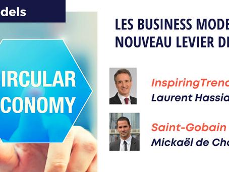 Webinar 27/04/2021 : Les Business Models de l'économie circulaire : nouveau levier de performance