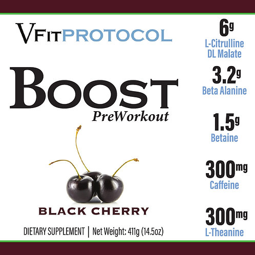 BOOST Black Cherry