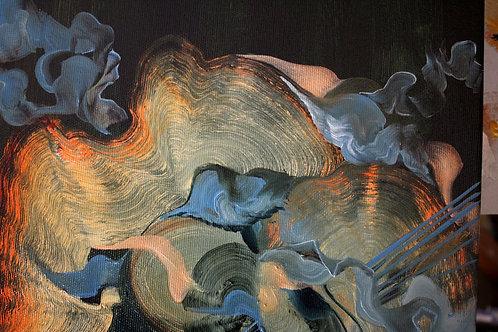 Monster - Oil on canvas - 30x30cm