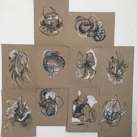 Studio Diary 2020 - Drawings