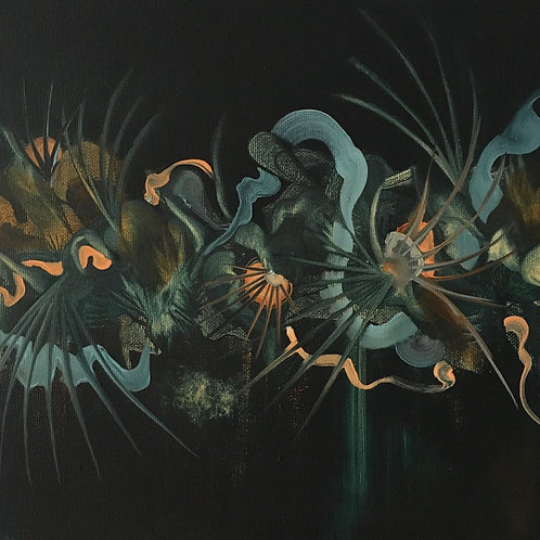 The wild ones II - Oil on canvas
