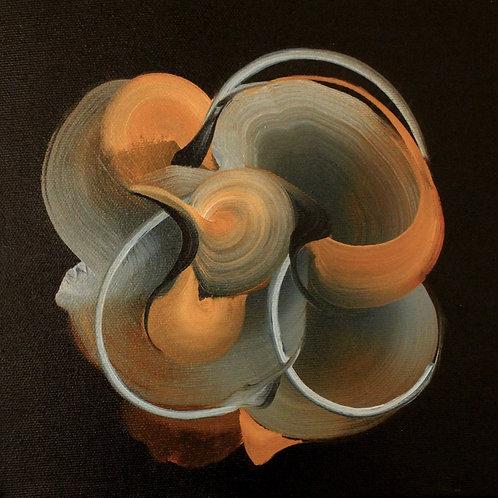 Marble II  - Oil on Canvas 20x20cm