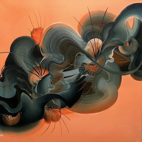 Lullaby - Original Oil Painting - 70 x 70cm