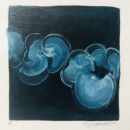 Flotsam #3  - oil painting on paper
