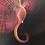 Thumbnail: Flutter - Oil on canvas - 30x30cm