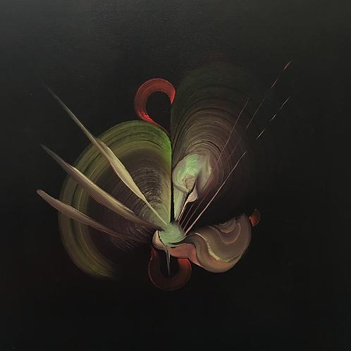 Illuminate -  Abstract Oil Painting - 50 x 50cm