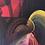 Thumbnail: Creep - Oil on canvas - 30x30cm