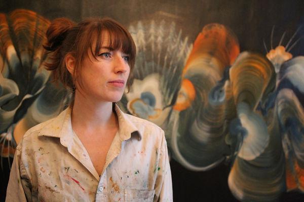 Genevieve Leavold Artist portait