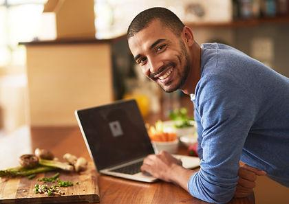 Smiling Man entreprenuer chef shared kitchen rentals san diego