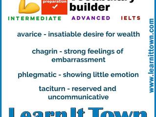 IELTS Vocabulary