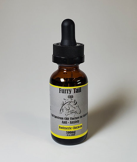 Furry Tail Animal Tincture (Rotisserie Chicken) 500mg 5 Pack