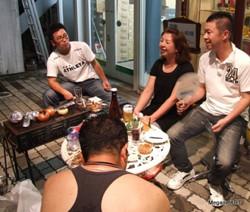 三社大祭BBQ