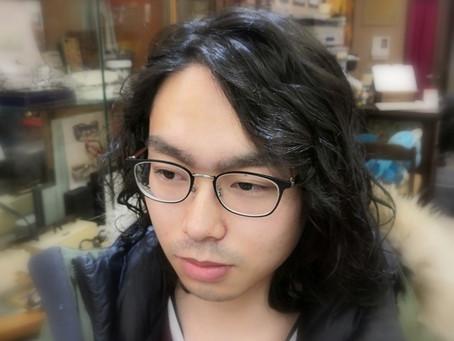 成人式に新しい眼鏡で!