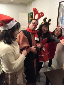 2015年・忘年仮装クリスマスパーティー♪