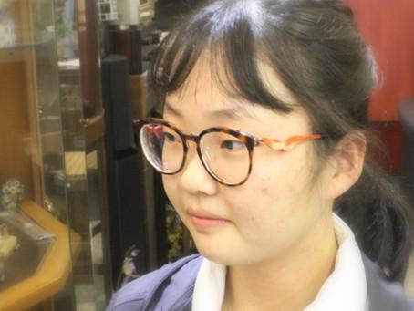 カムロサングラスをメガネに!