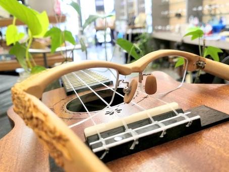 木の眼鏡のご紹介・「柘植・龍」