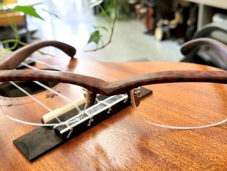 木の眼鏡のご紹介・「木種・スネークウッド」