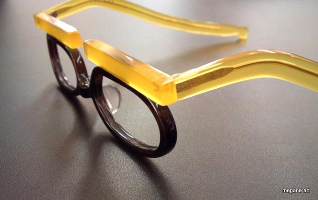 世界に一本の手作りメガネ