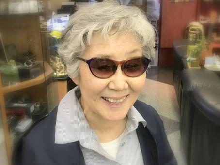 新しいメガネで心も体も元気に!