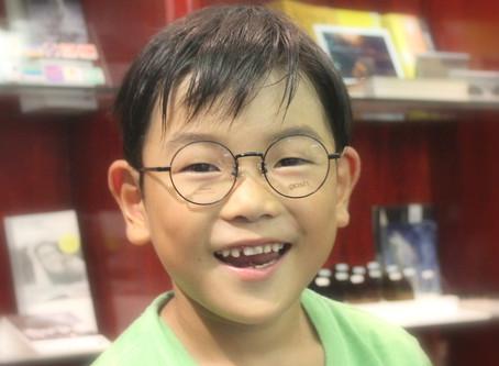 可愛い~男の子の丸メガネ♪