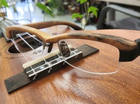 木の眼鏡のご紹介・「木種・黒柿 52サイズ」