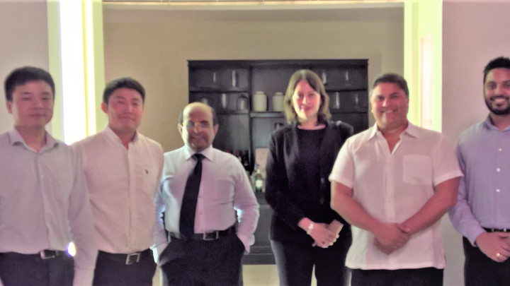 Galle Face Hotels Group and Zhen Hua Engineering Co. Ltd in joint venture