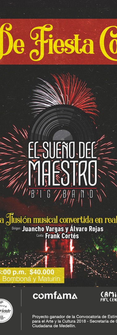 De Fiesta con El Sueño del Maestro Big Band