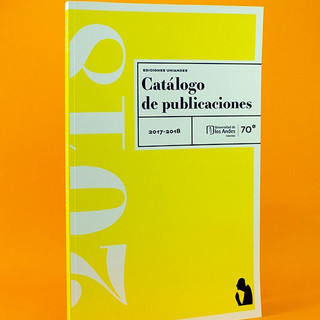 Catálogo Ediciones Uniandes 2018