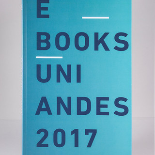 Catálogo E-Books Uniandes 2017