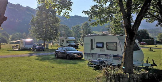 Camping im Sommer