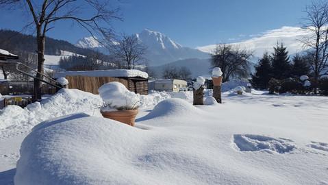 Dauercampen im Winter