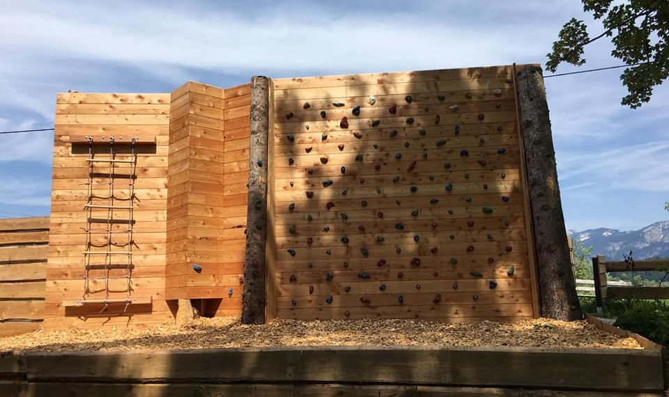 Plezalna stena nova