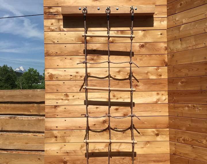 Plezalna stena - mreža