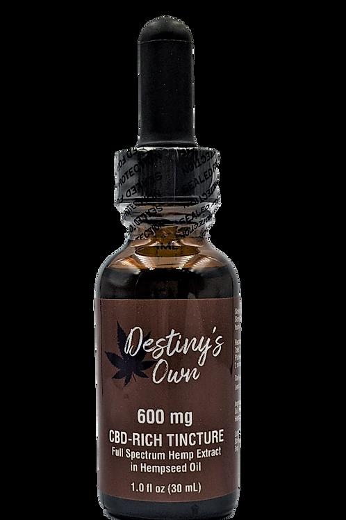 600 mg CBD-RichTincture