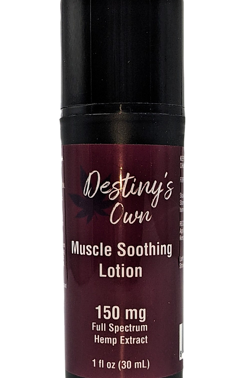 Muscle Soothing Lotion 150 mg Full Spectrum/Hemp Extract