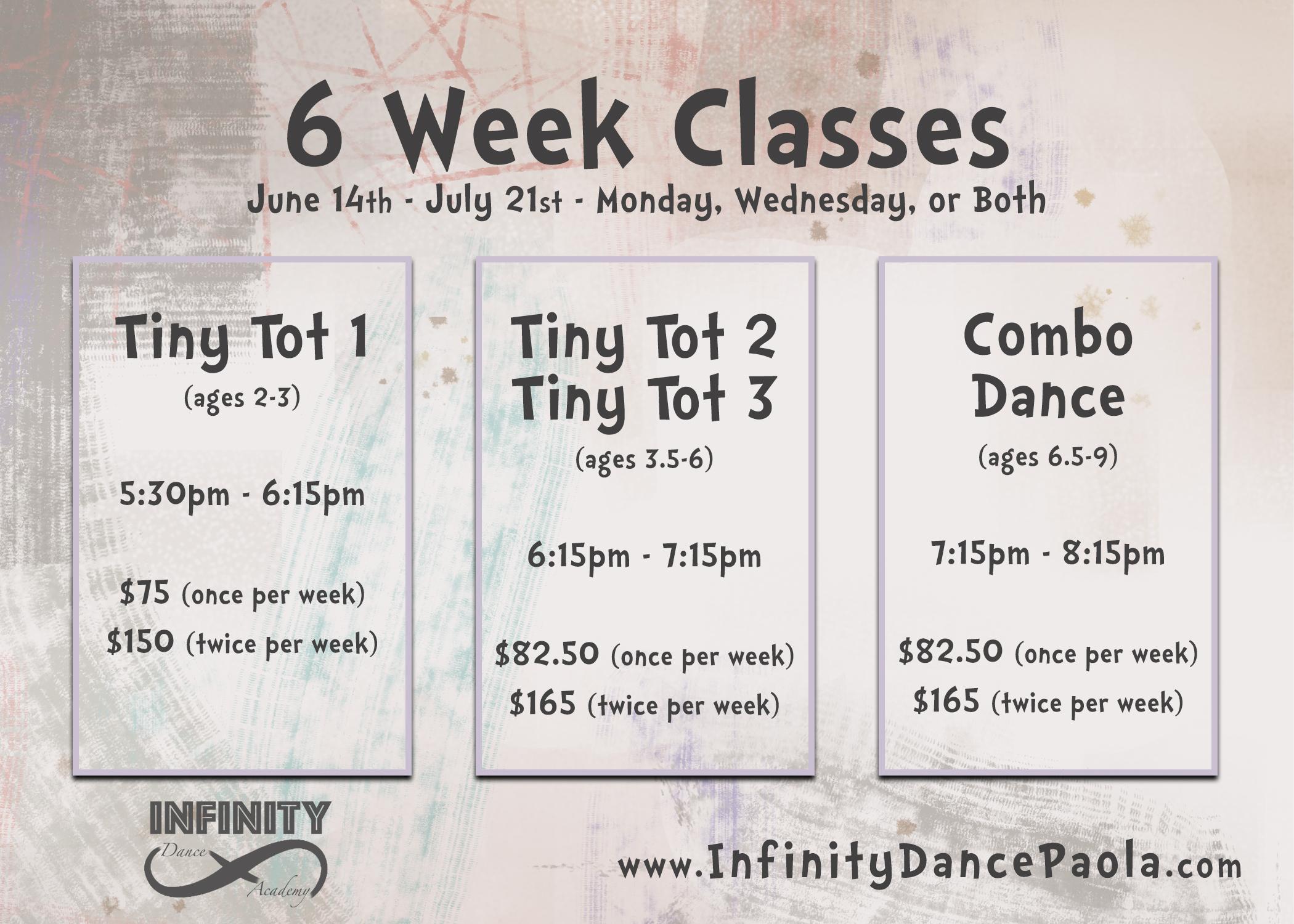 6 Week Classes