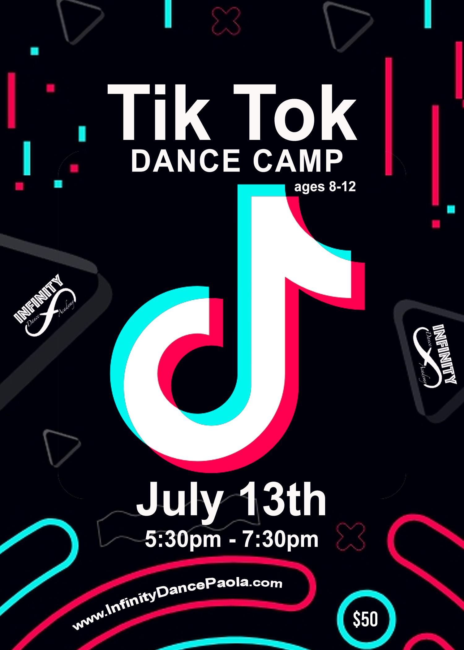 Tik Tok Dance Camp