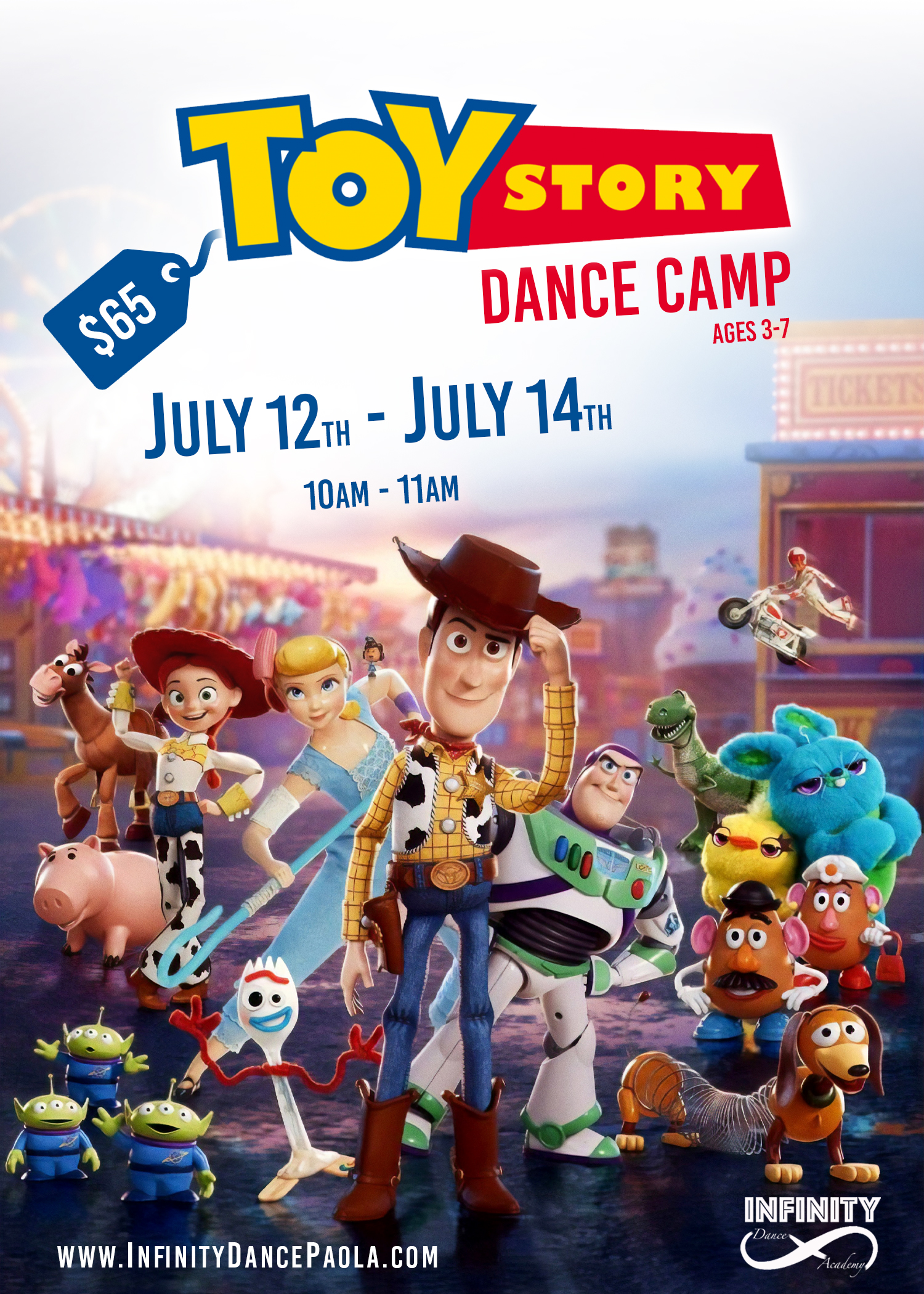 Toy Story Dance Camp