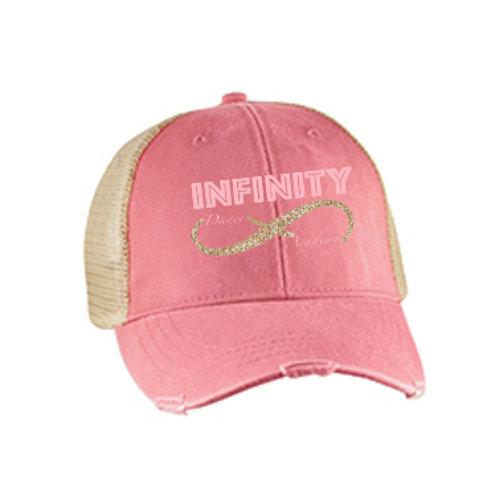 Pink Vintage Hat