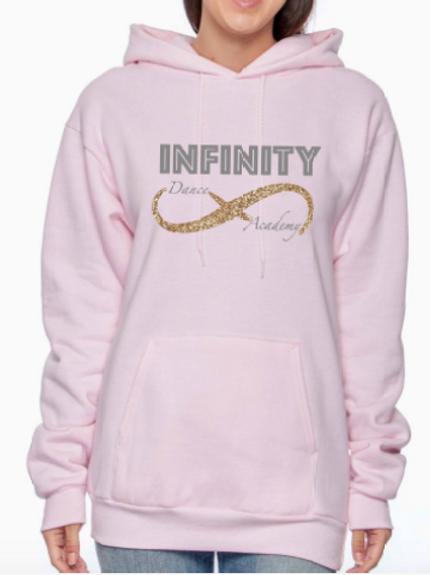 Pink Hooded Sweatshirt-Child/Adult