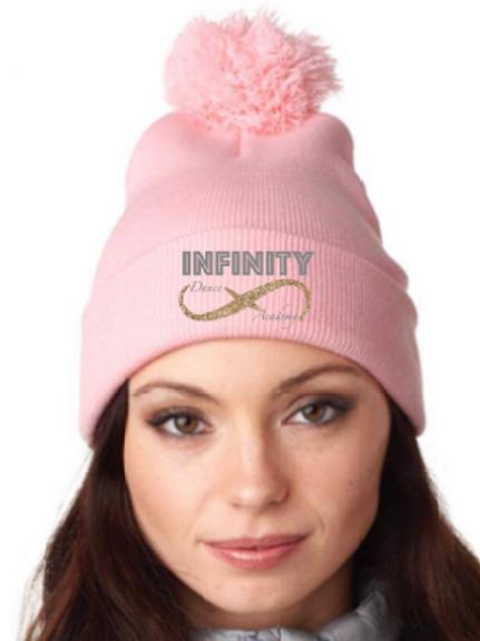 Pink Pom Hat